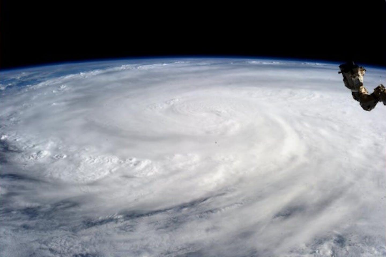 Haiyan from space