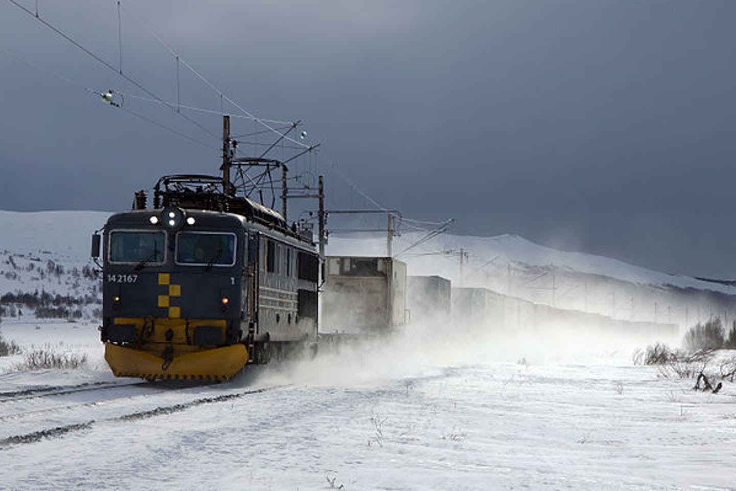 electric train in Norway