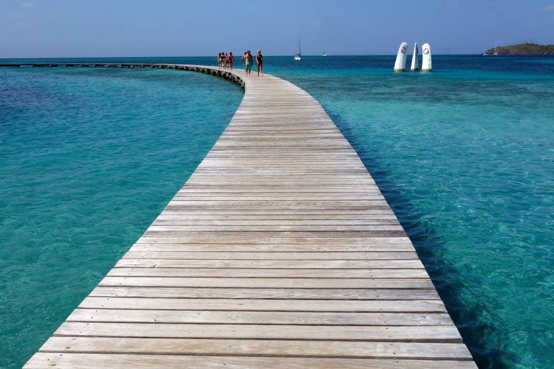 Caribbean walkway