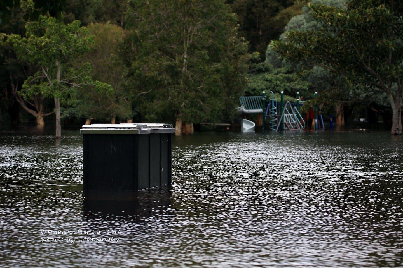 flooded centennial park