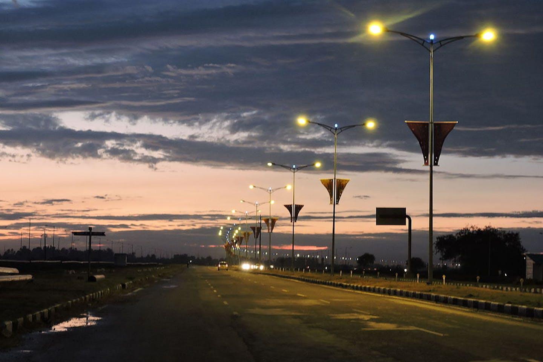 india airport road