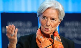 Lagarde says IMF work can contribute to environmental change