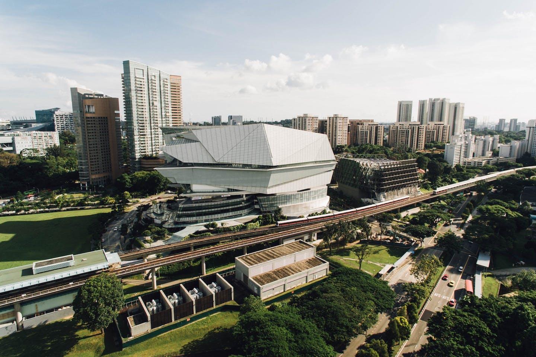 singapore MRT public transport car-lite