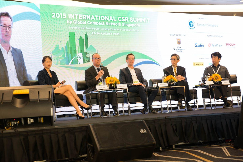 csr summit climate change panel