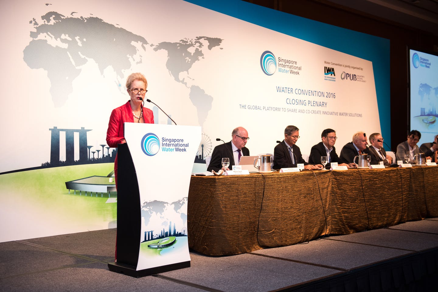 The closing plenary at the Water Convention. Image: SIWW