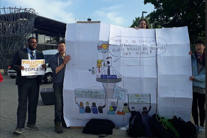 protest in Bonn