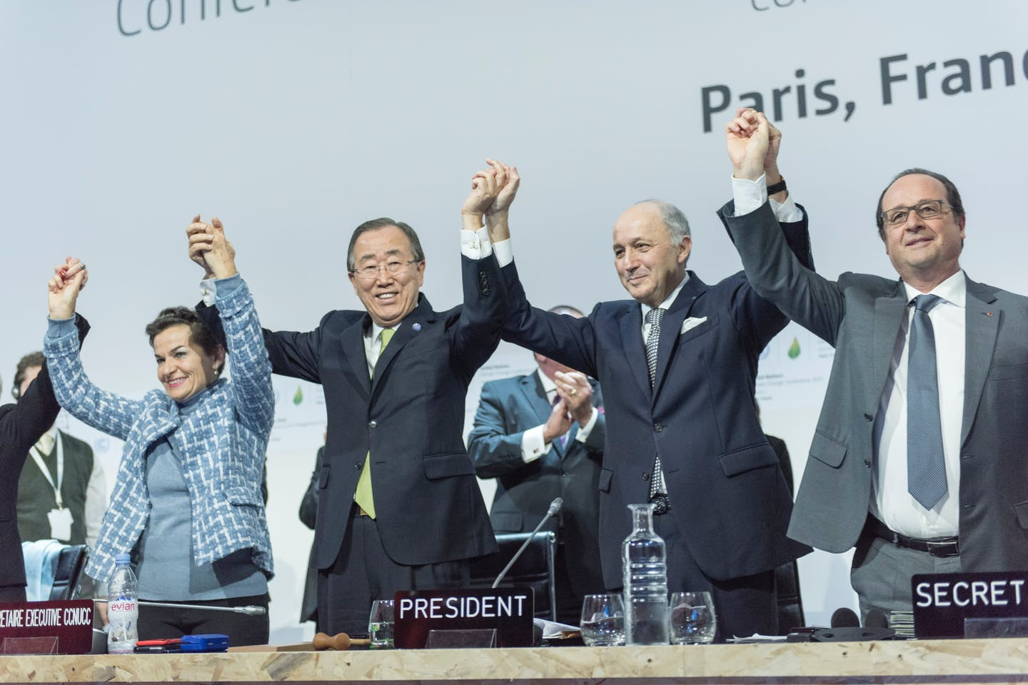 Closing Ceremony at COP21