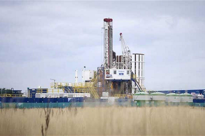 Cuadrilla drilling rig