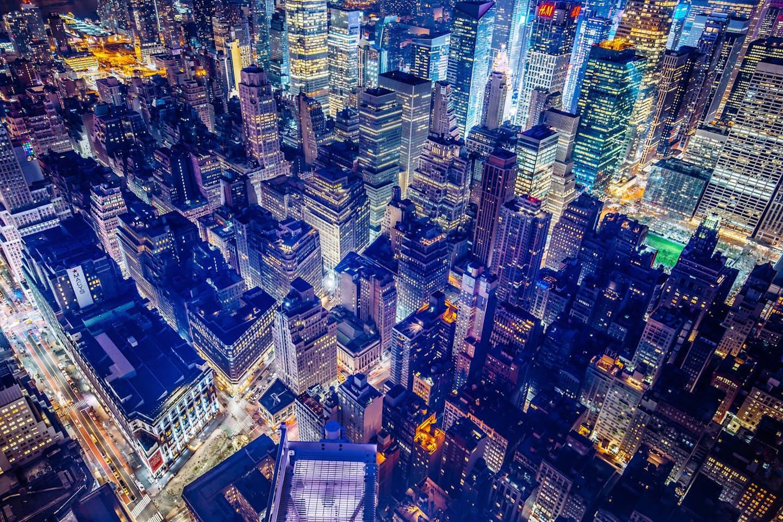 new york bright lights