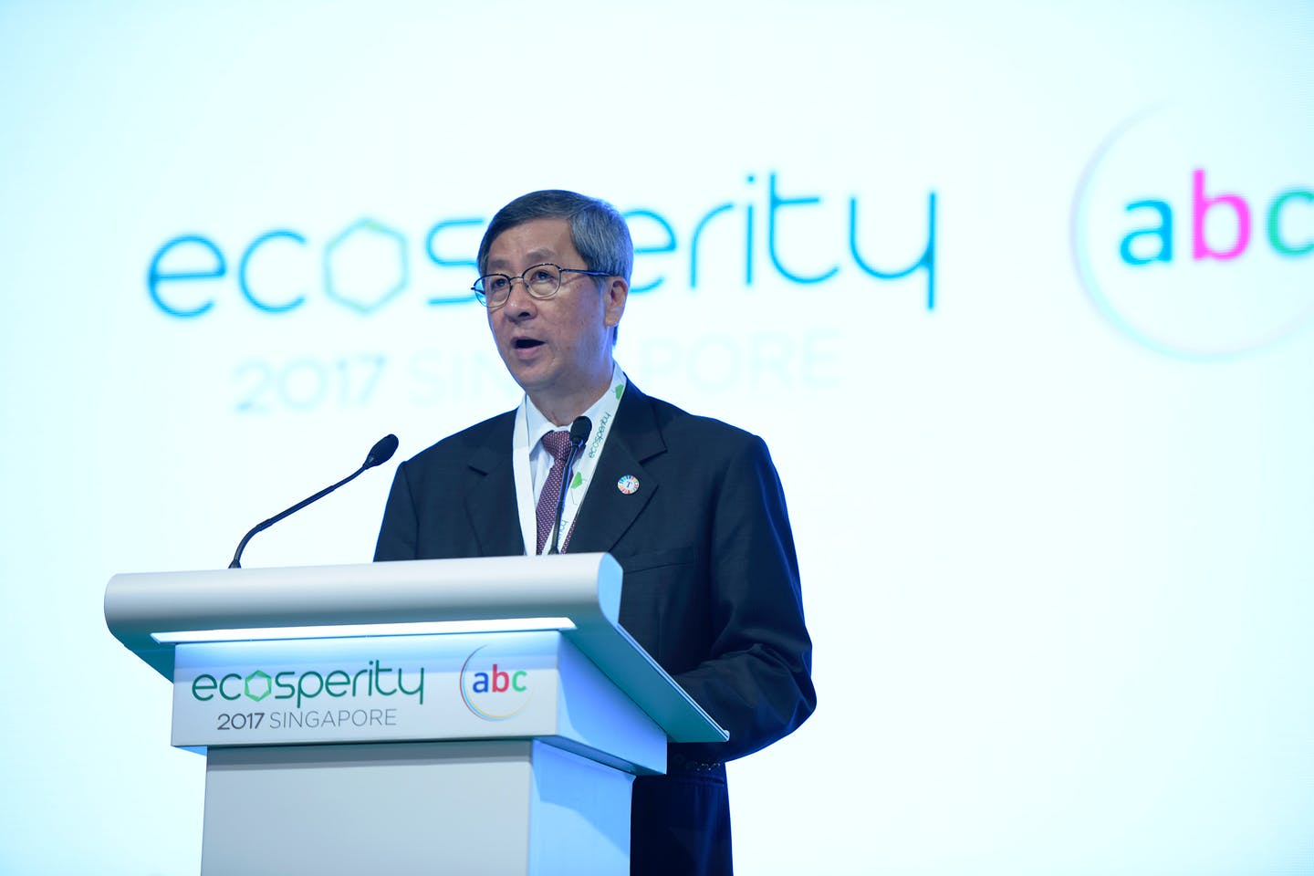 """Temasek's chairman, Lim Boon Heng: """"Companies are starting to place sustainability at the core of their business operations."""" Image: Temasek"""