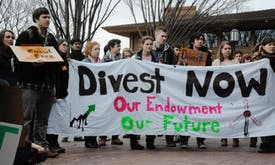 Cost of fossil fuel investment is too high