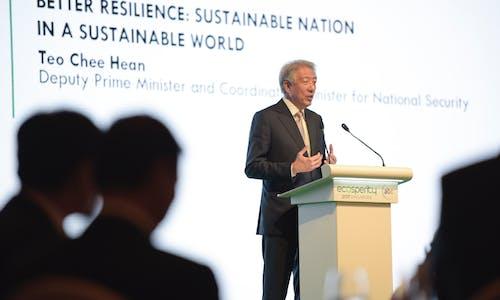 The four pillars of Singapore's sustainable development success