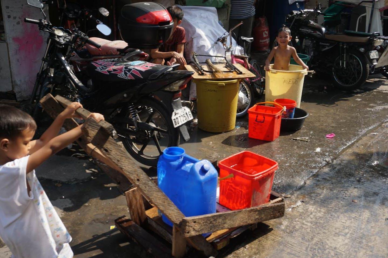 Manila water shortage