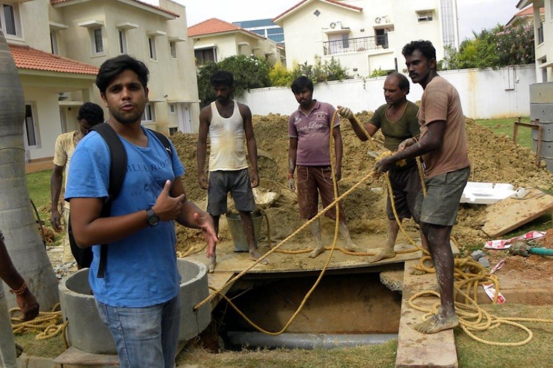 water workmen in Bengaluru