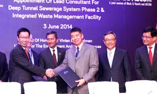 International joint venture wins Singapore's used-water 'superhighway' project