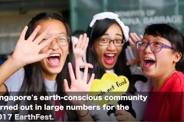 EarthFest video still image
