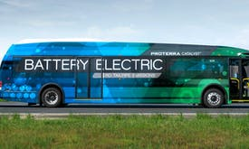 The record-breaking electric bus