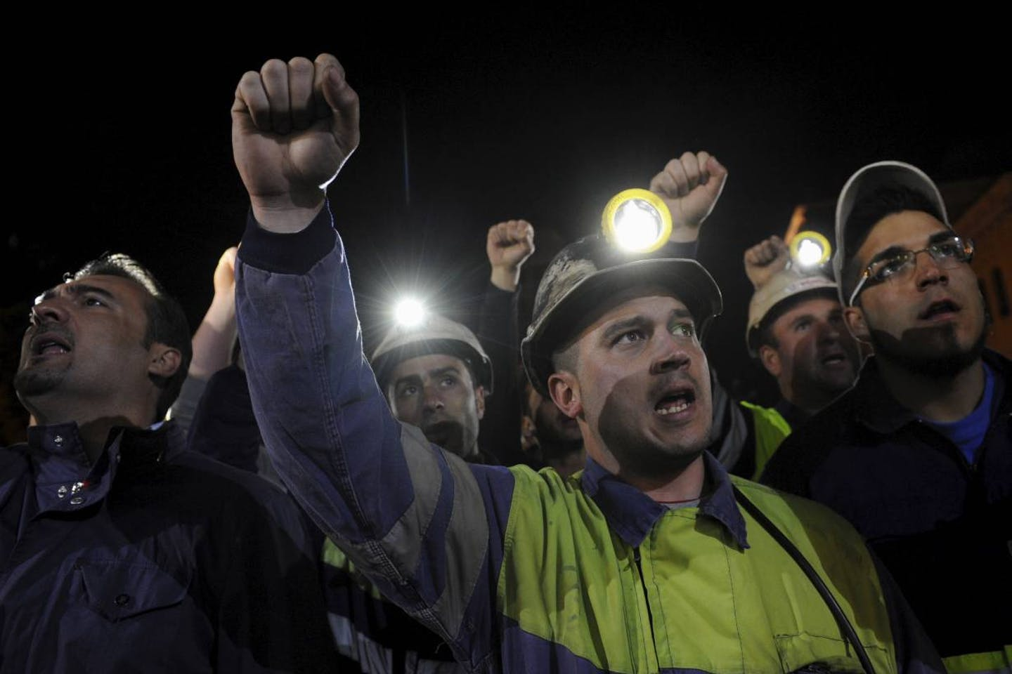 coal miner protest