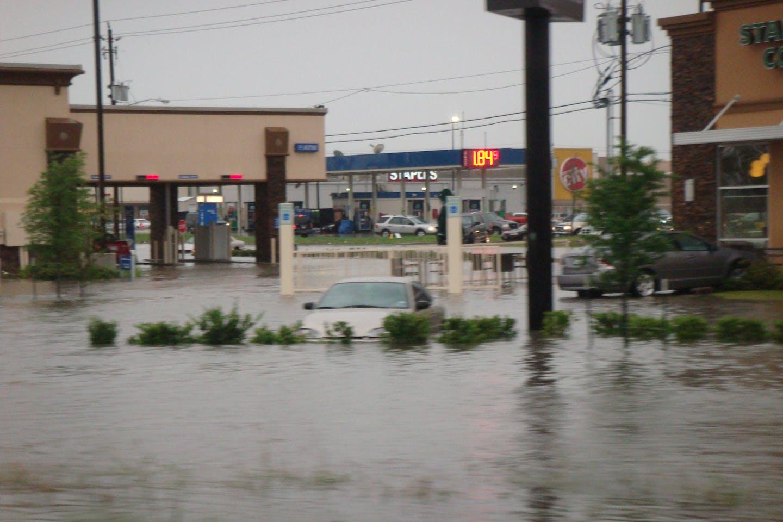 Flooding in Houston.