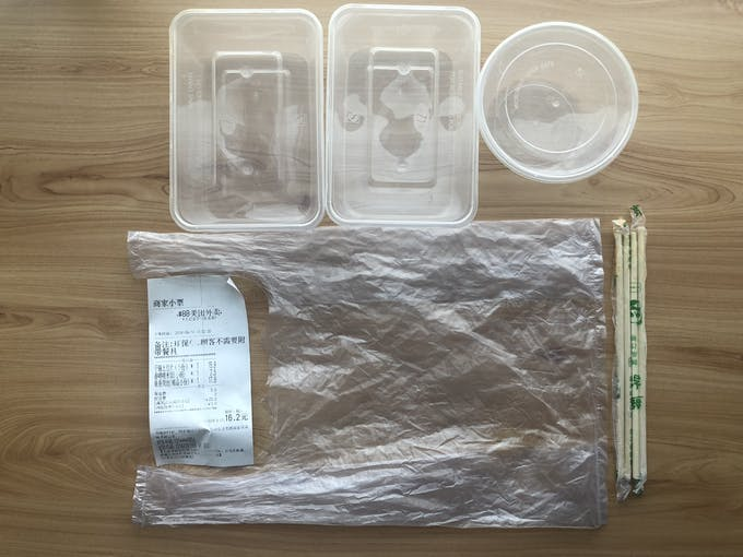 plastic packaging for food deliveries