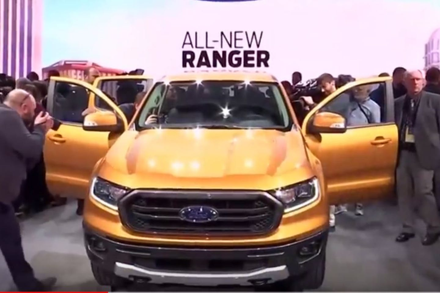 ford unveiling