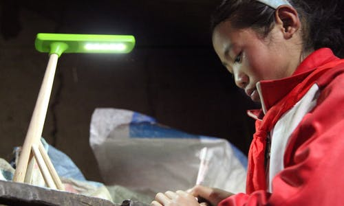 A light of hope for China's rural children