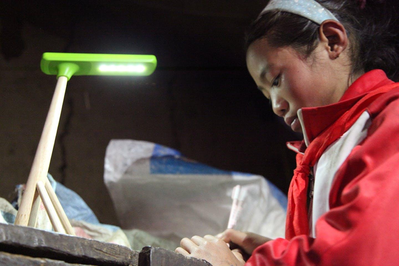da liang girl studying