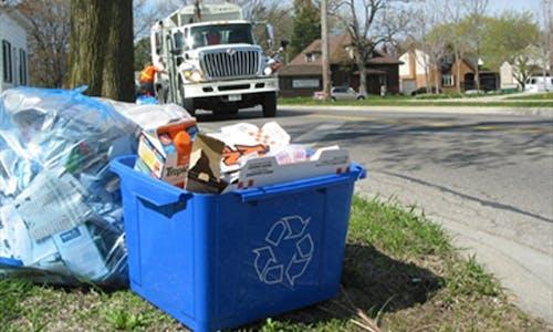 Reducing waste through behavioural change