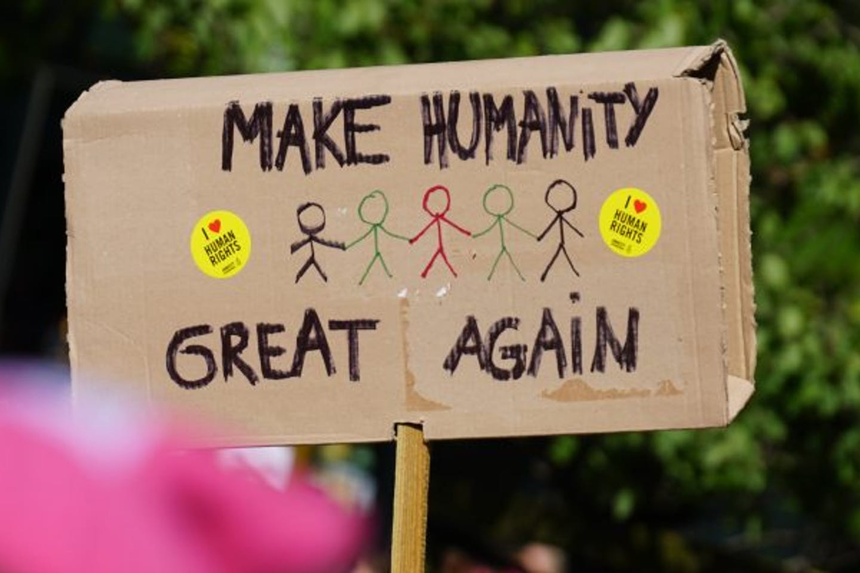 make humanity great again