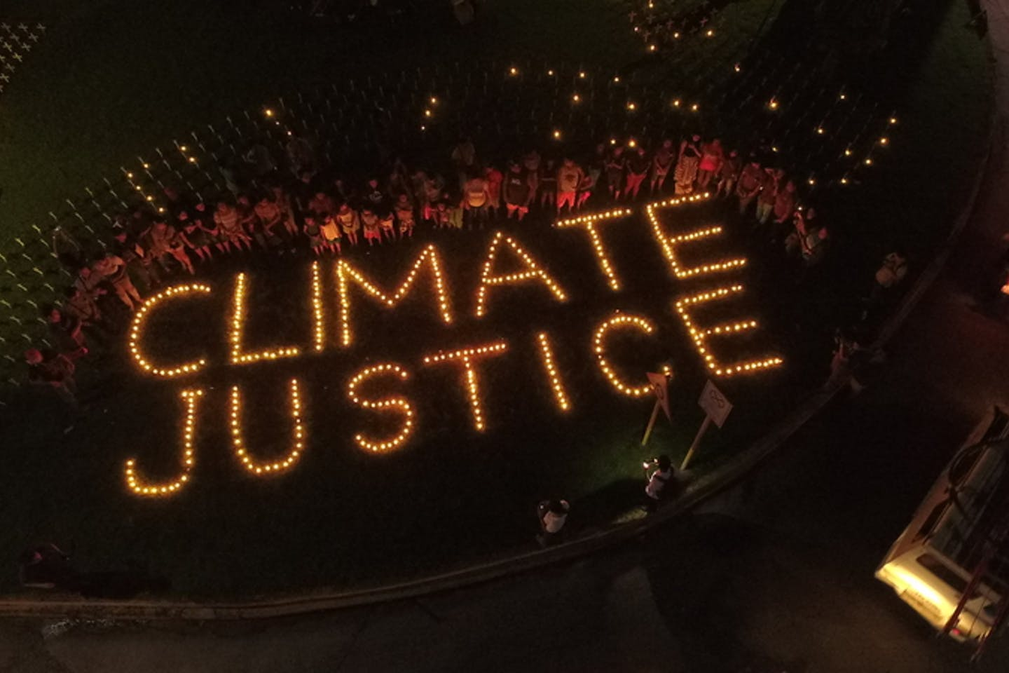 climate justice candles