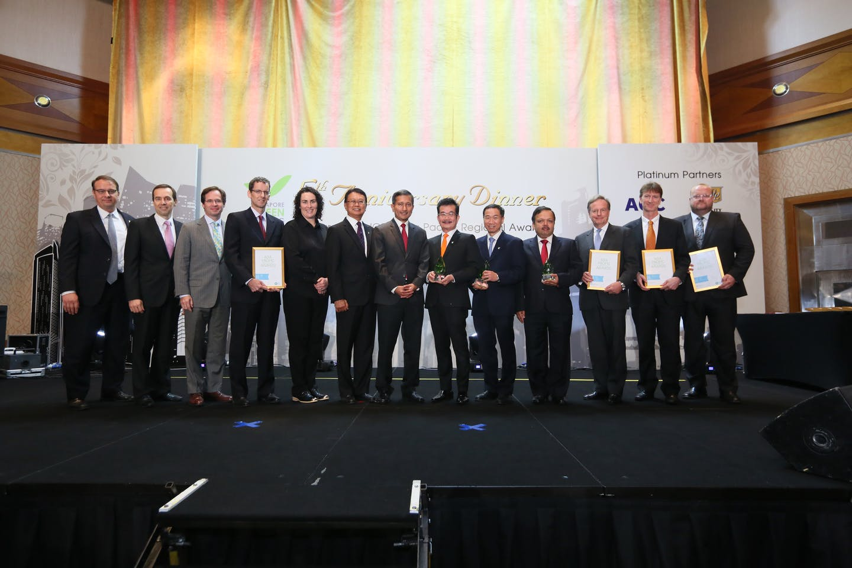 WGBC green leadership awards