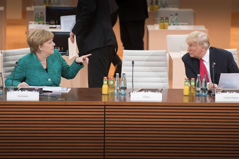 Merkel speak to Trump at G20
