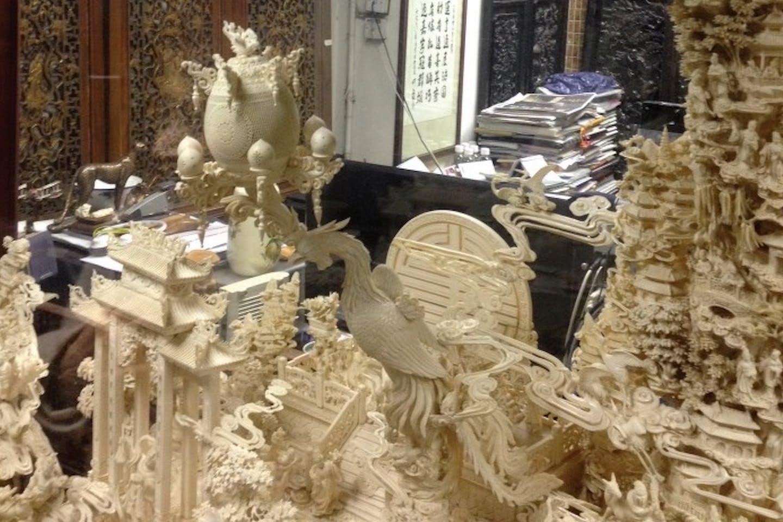hk ivory trade