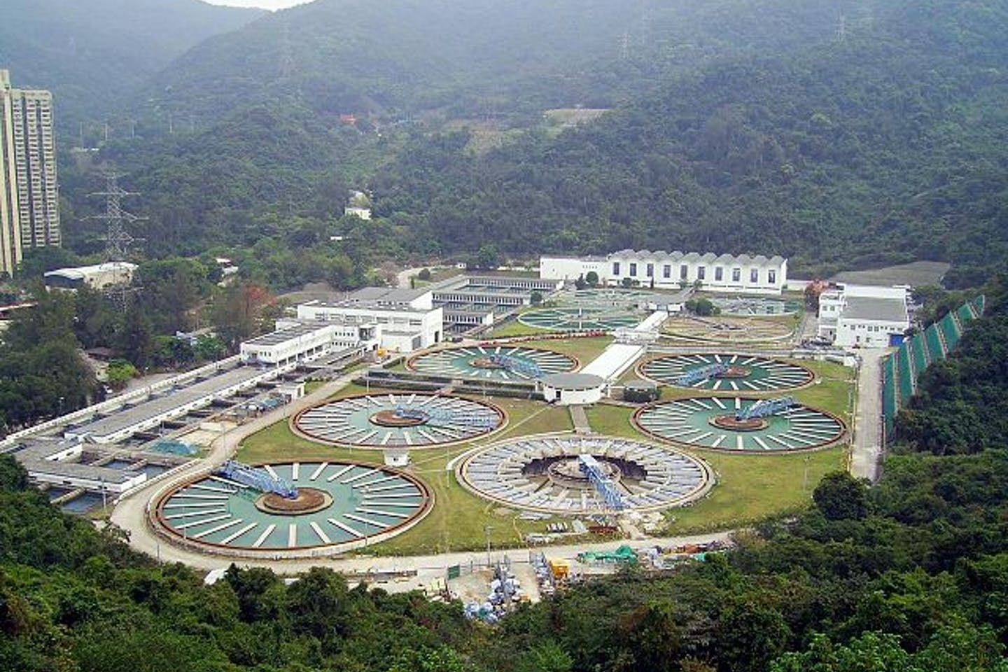 HK Sha Tin Water Treatment Works