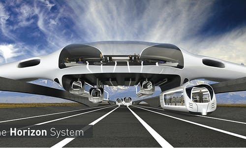 Ground-breaking air-rail transport relies on all-electric hybrid system