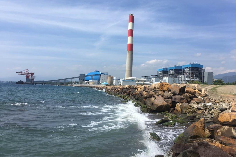 Celukan Bawang power plant in Bali
