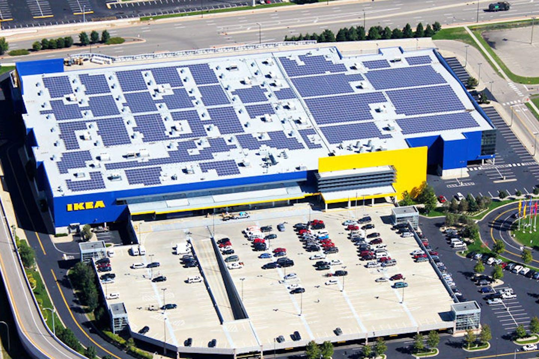 solar ikea rooftop