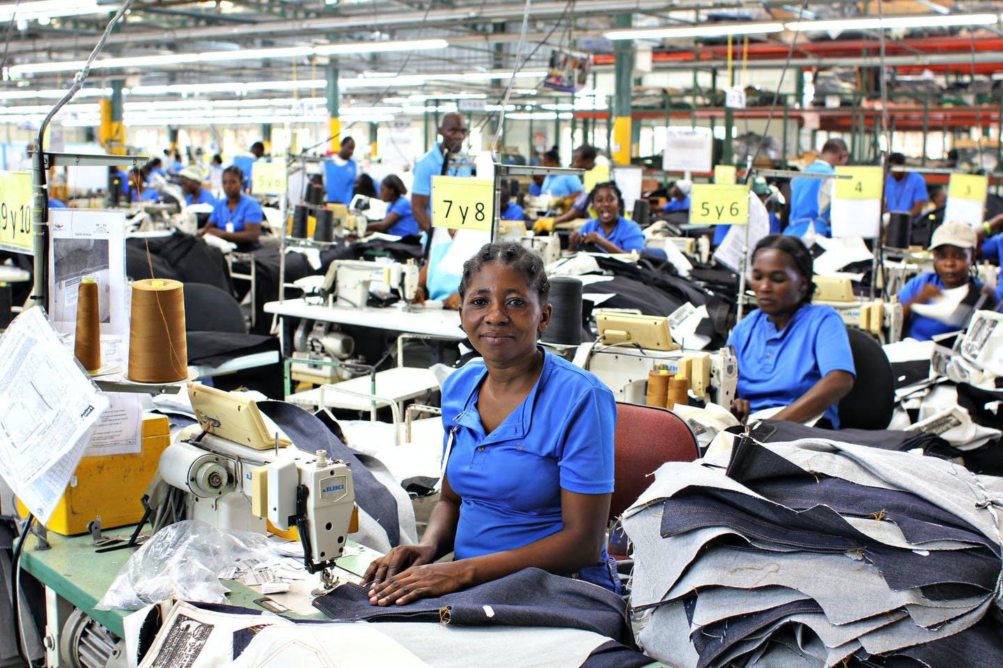 Levi's factory worker