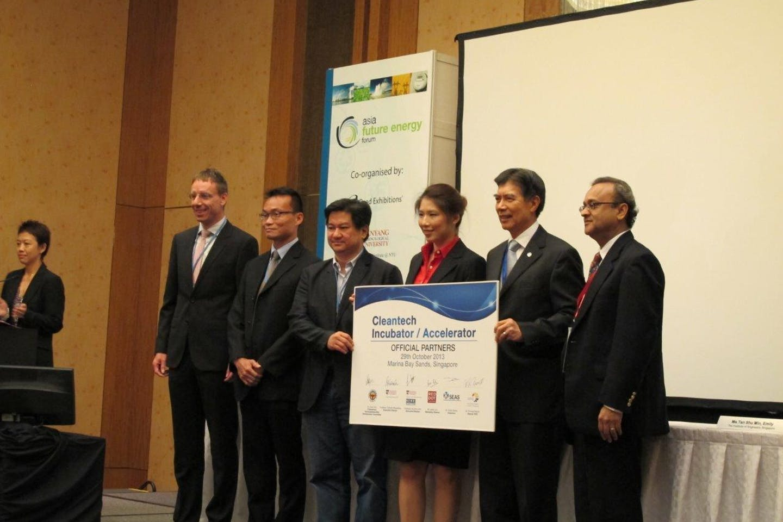 Cleantech incubator partnership