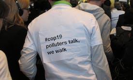 Warsaw – Day 11: Civil society turns its back on talks