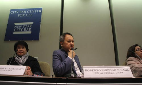 Seeking global attention, Philippines moves human rights probe to New York