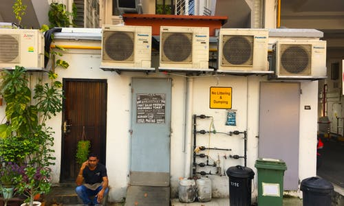 Air-con addicted Singapore seeks new ways to escape urban heat trap