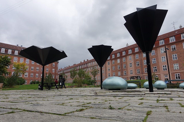 Copenhagen rainwater garden