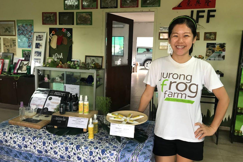 Chelsea Wan Jurong Frog Farm