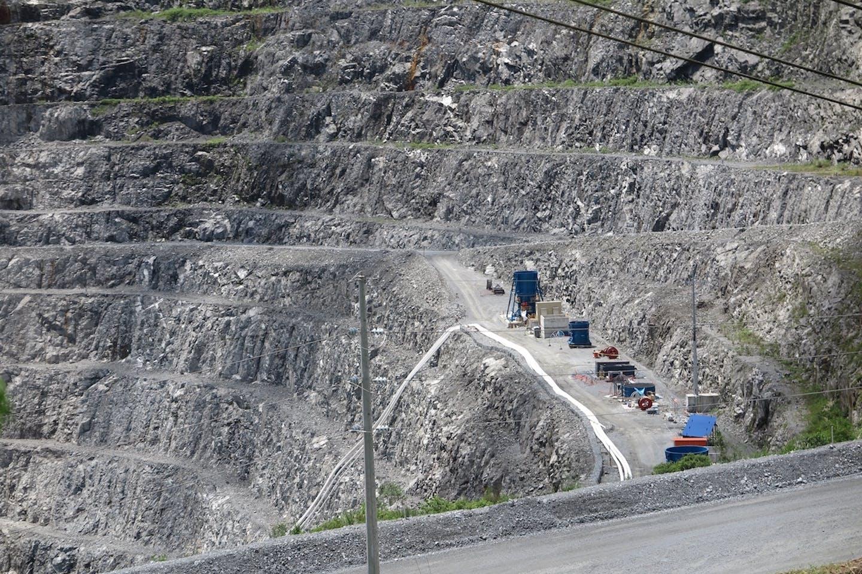 OceanGold open pit mines
