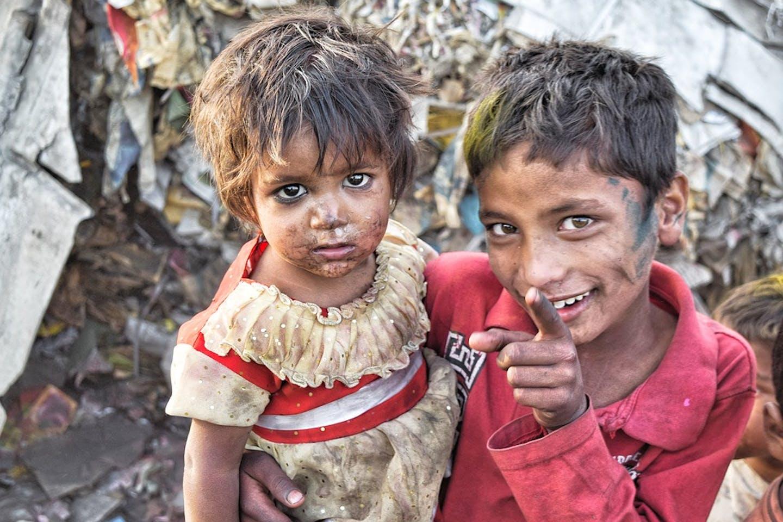 Slums in India