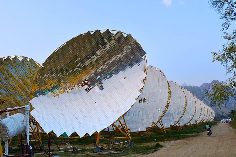 solar plant in india