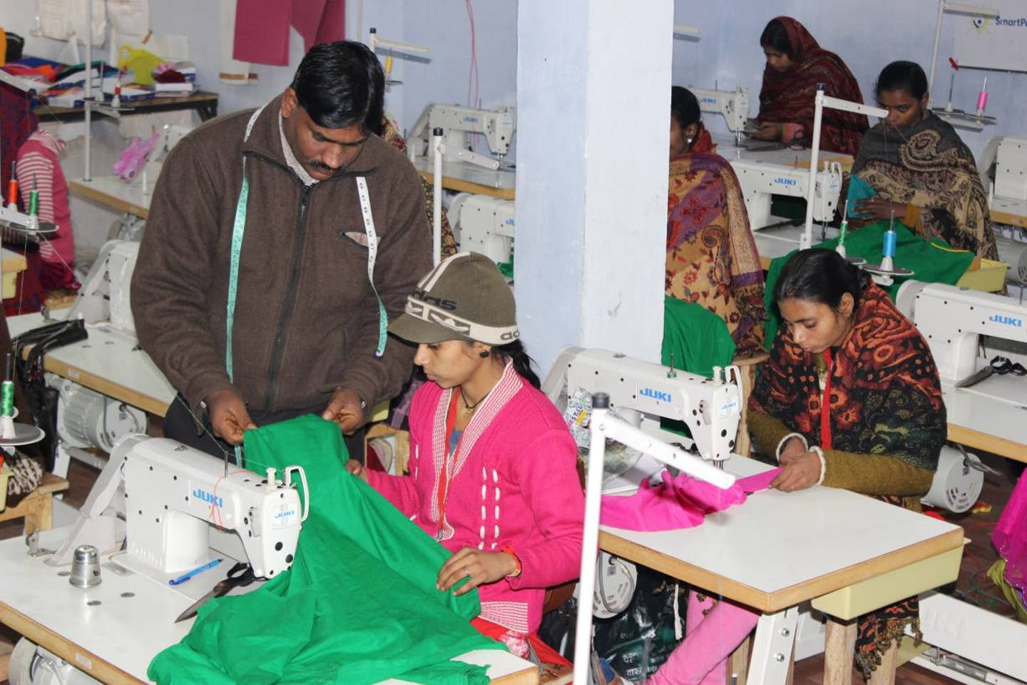solar-powered sewing machines