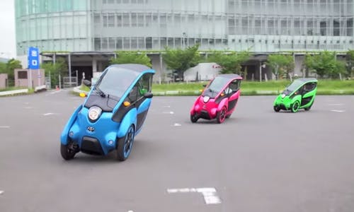 Toyota to start Tokyo trial of electric three-wheeler in green mobility push