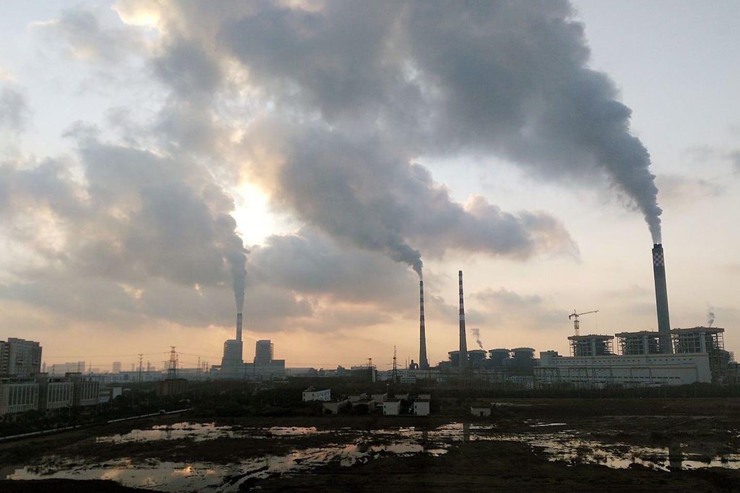 coal power plant jiangsu